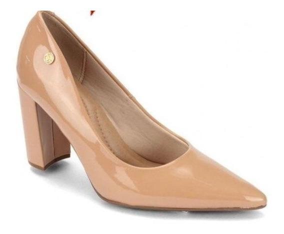 Sapato Scarpin Feminino Salto Grosso Beira Rio