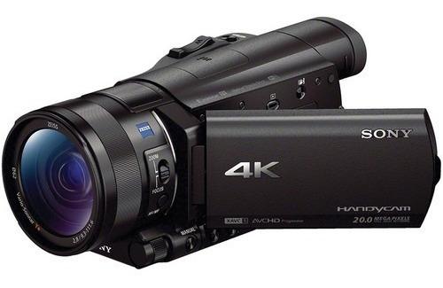 Sony Fdr Ax100 4k Ultra Hd Filmadora 4k Sem Juros !