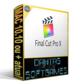 Final Cut Pro X 10.4.6 V 2019 Com Bônus E Extras Mac Os
