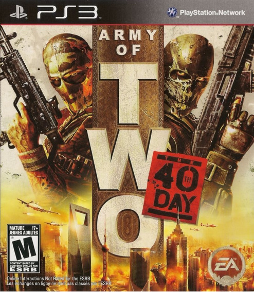Army Of Two 40 Day (mídia Física) - Ps3