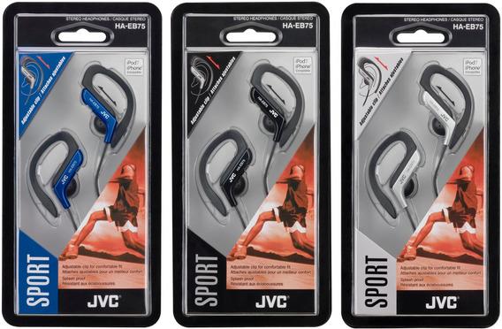 Fones Jvc Ha-eb75 Sport Earclip Sem Microfone