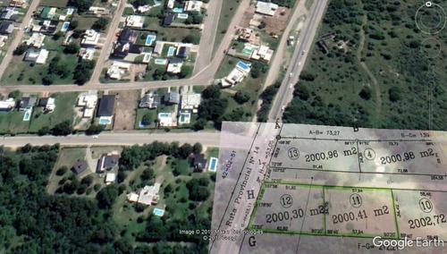Lote 4000 M2 San Antonio De Arredondo - Sobre Ruta 14