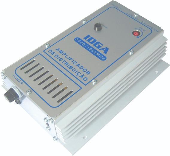 Amplificador 35db Tv Digital Hdtv Idga-35 Kit 10un.