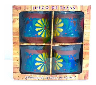 Taza Barro Cerámica Porcelana Guanajuato Paquete