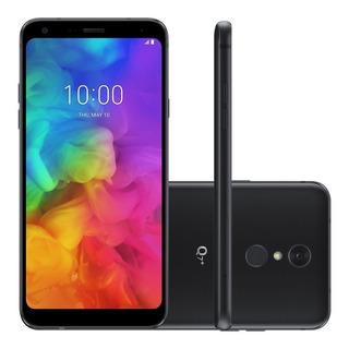 Smartphone LG Q7+ 64gb Dual Chip 4g Android 8.1 Preto
