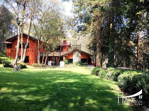Imagen 1 de 19 de Casa De Revista En El Bosque De Tlalpuente.