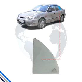 Vidro Oculo Fixo Traseiro Esquerdo Hyundai Accent 1995-1999