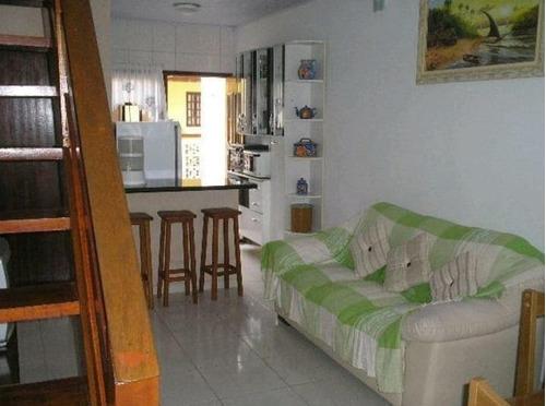 Apartamento Duplex Com 2 Dormitórios À Venda, 75 M² Por R$ 260.000,00 - Prainha - Caraguatatuba/sp - Ad0013