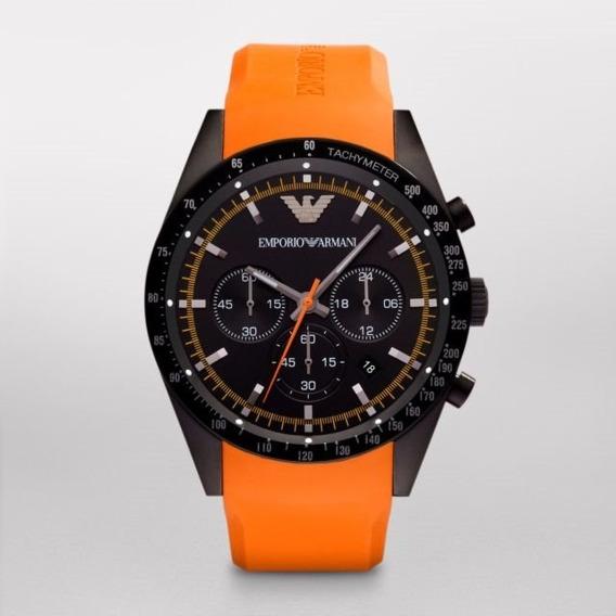 Reloj Emporio Armani Ar5987 Cronógrafo Nuevo En Caja