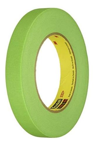 Tirro/cinta Enmascarar De ¾ X 55mts Verde Masking Tape 233+