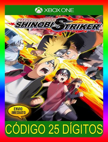 Naruto To Boruto Shinobi Striker Xbox 25 Dígitos (envio Já)