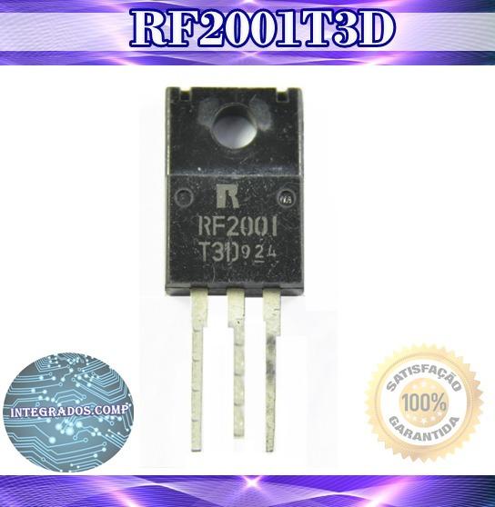 Diodo Rf2001t3d Rf2001 Novo Original Rf2001 T3d