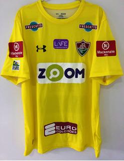Camisa Fluminense Usada Jogo Brasileiro 2017 D. Cavalieri