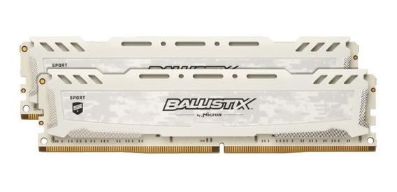 Memoria Ram Ballistix 3000mhz Cl15 Ddr4 Gaming 32gb 2 X 16gb