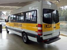 Sprinter Escolar Extra Longa Com Ar Frontal 415
