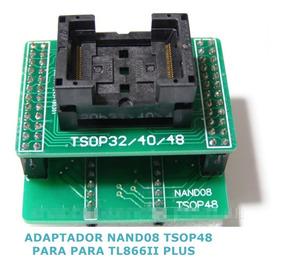 Adaptador Nand08 Tsop48 Dip48 Tl866ii Plus Nand Flash