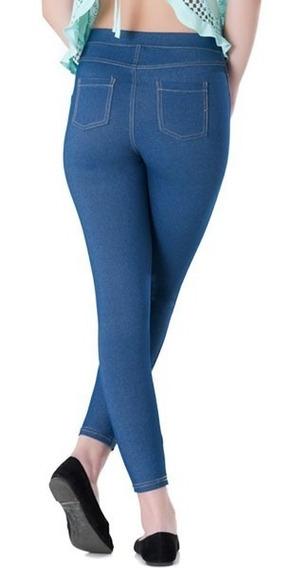 Pantalones Teen Tipo Leggin Ajustado Didijin