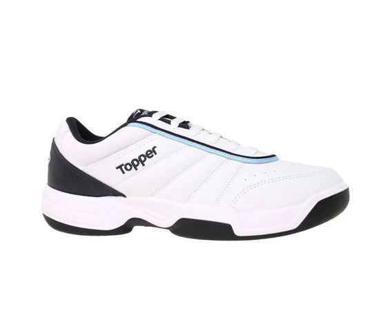 Topper Zapatilla Tenis Tie Break Blanco Azul