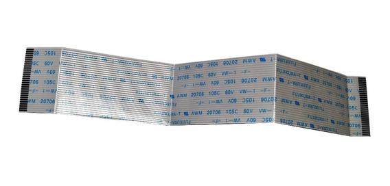 Flat Cable 30 Vias 1mm 19,3cm - Embalagem Com 4 Peças