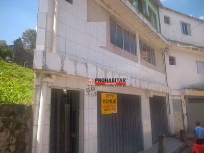 Casa À Venda, 350 M² Por R$ 350.000 - Parque Grajaú - São Paulo/sp - Ca2709