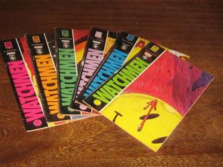 Watchmen Nºs 1 Ao 6 Ano: 1988 Mini Série De Luxo Completa