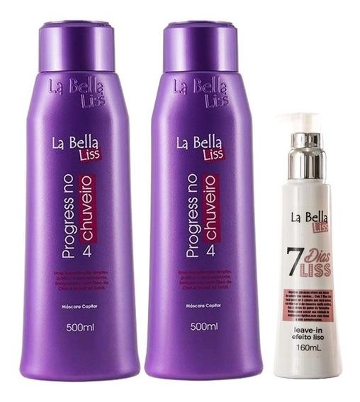 La Bella Liss 2 Progress No Chuveiro + 7 Dias Liss Grátis