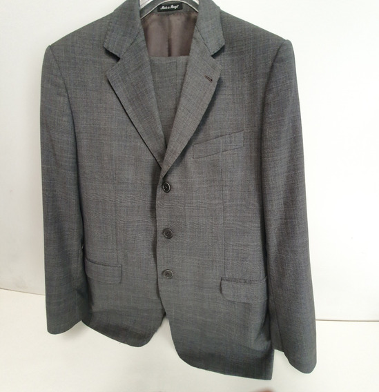 Terno Broksfield Cinza - Australian Cool Wool