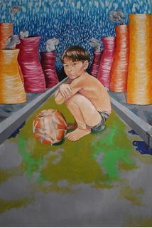 Cuadro Pintura Al Oleo. Cuadro. Oleo-lienzo. Obra De Arte