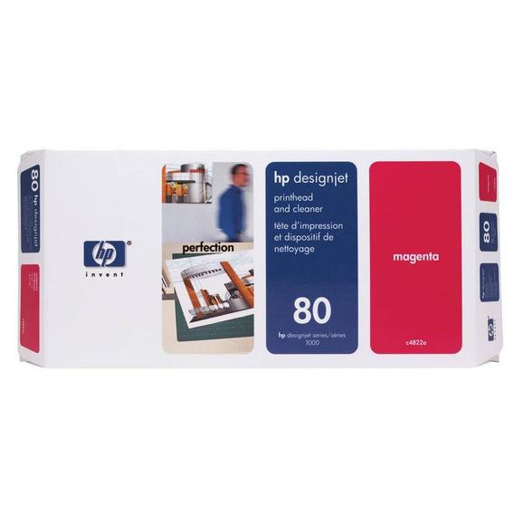 Kit 3 Cabeça De Impressão Hp 80 C4821a C4822a C4823a