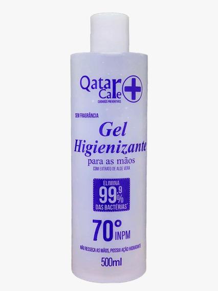 Alcool Gel 70% Higienizador 500ml C/ Anvisa Pronta Entrega