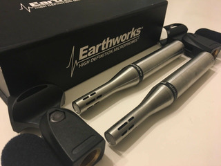 Earthworks Sr25s Pair Condenser Cable Professional Micropho