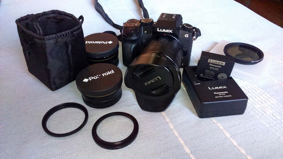 Camera Panasonic Lumix G7 Lente 14-140 + Acessórios