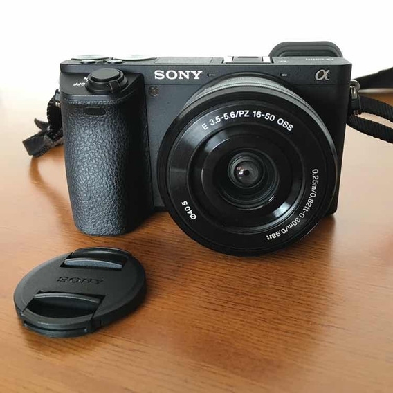 Sony Alpha A6500 + Lente Kit