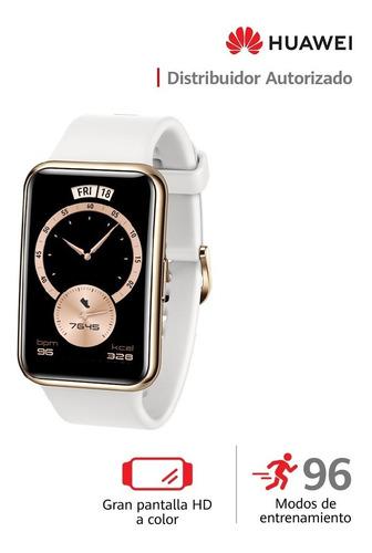 Imagen 1 de 9 de  Huawei Smartwatch Watch Fit Elegant Blanco