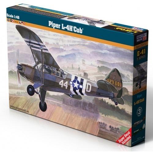 Avion Piper L-4h Cub Mistercraft 1/48 Supertoys Envios