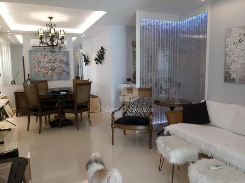 Imagem 1 de 23 de Apartamento Com 4 Dormitórios À Venda, 118 M² Por R$ 830.000,00 - Santa Rosa - Niterói/rj - Ap0611