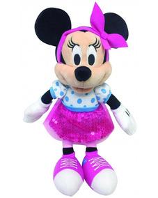 Pelúcia Mickey Ou Minnie 25 Cm - Disney Original Dtc 4352