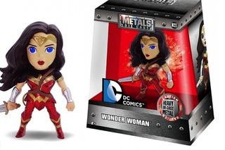 Figura Metalica Mujer Maravilla Wonder Woman Marvel 10cm