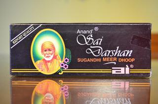 Sahumerios Sai Darshan - Dhoop Importado Por Mayor- 12 Cajas