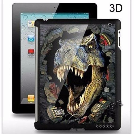 Capa Case iPad 2/3/4 3d (diversas Figuras Em 3d)