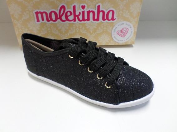 Tênis Infantil Feminino Molekinha Ref-2097.318