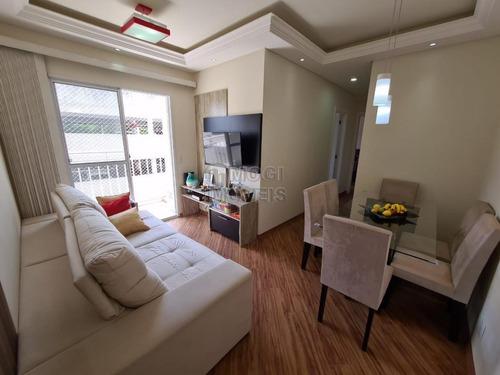 Apartamento Para Venda Em Mogi Das Cruzes, Parque Santana, 2 Dormitórios, 1 Suíte, 2 Banheiros, 1 Vaga - Ap504_2-1133074