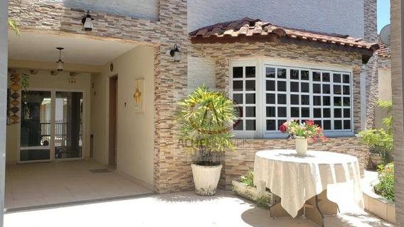 Casa Sobrado Com 4 Dormitórios À Venda, 280 M² Por R$ 1.120.000 - Catiapoa - São Vicente/sp - Ca1638