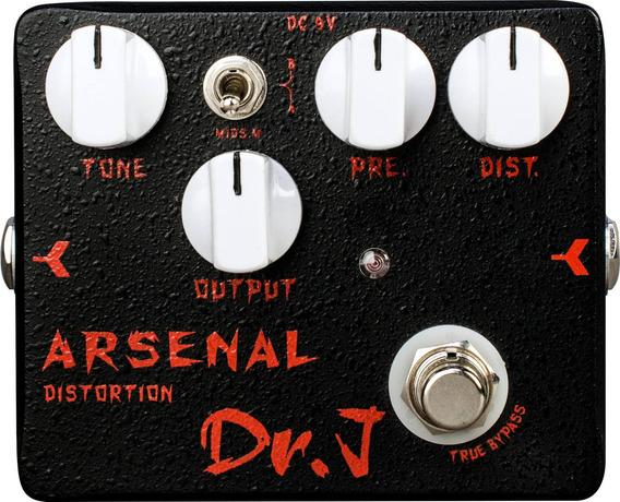 Pedal Guitarra Joyo Distortion - Dr J Arsenal
