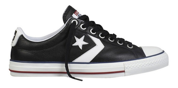 Zapatilla Converse Star Player Cuero Negra Original