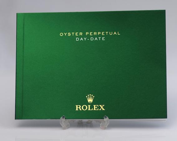 Manual Rolex Daydate 118348 228238 E Outros Original 2016