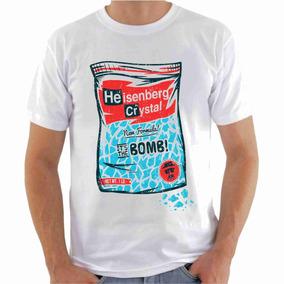 Camisa Camiseta, Breaking Bad Meta Azul, Série Breaking Bad