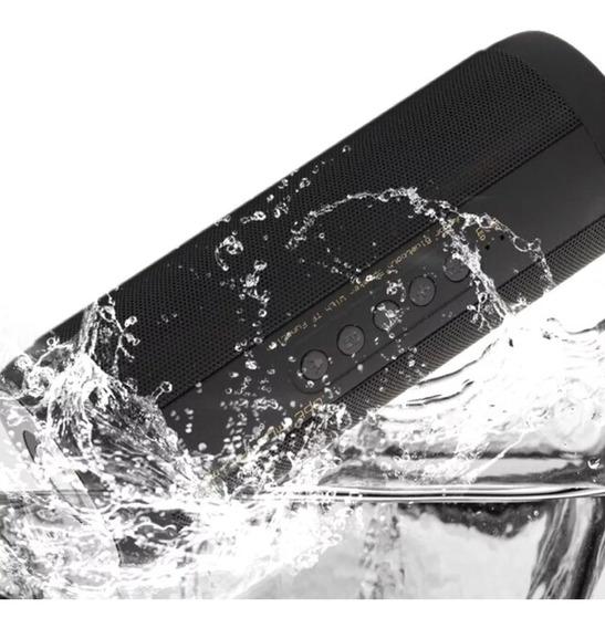 Speaker T2 Sem Fio Bluetooth Super Bass À Prova D