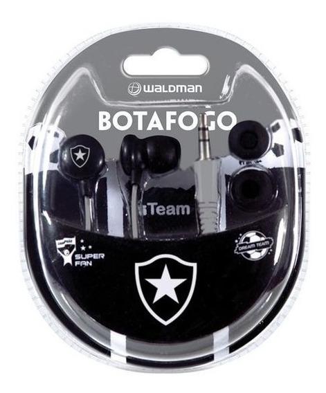 Fone De Ouvido Waldman Sf10 In-ear Time Botafogo
