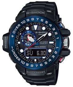 Relógio Casio G-shock Masculino Gulfmaster Gwn-1000b-1bdr